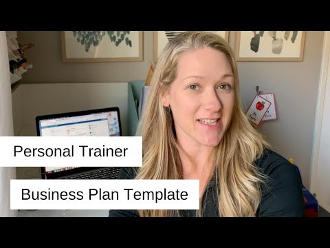Personal Trainer Business Plan Template