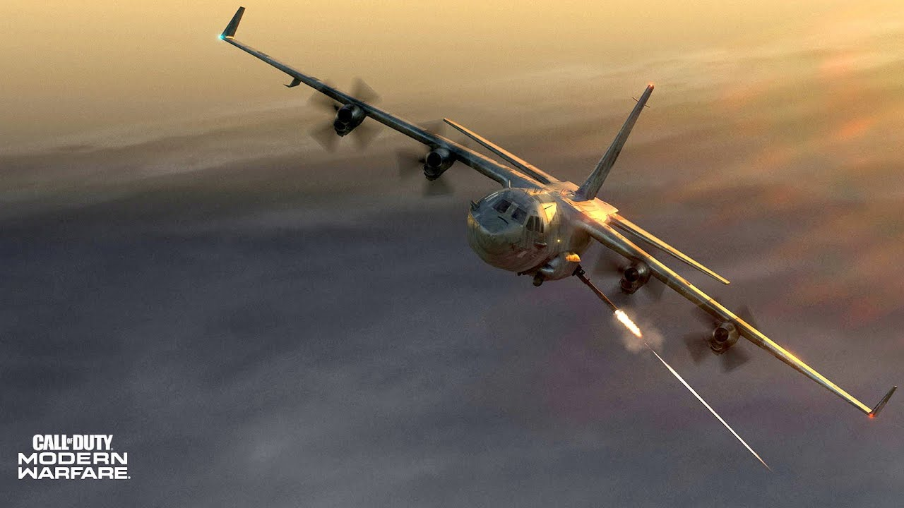 AC-130 Gunship Mission - Heavily Armed Ground -Attack Aircraft