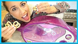TRYING AN EASY BAKE OVEN!