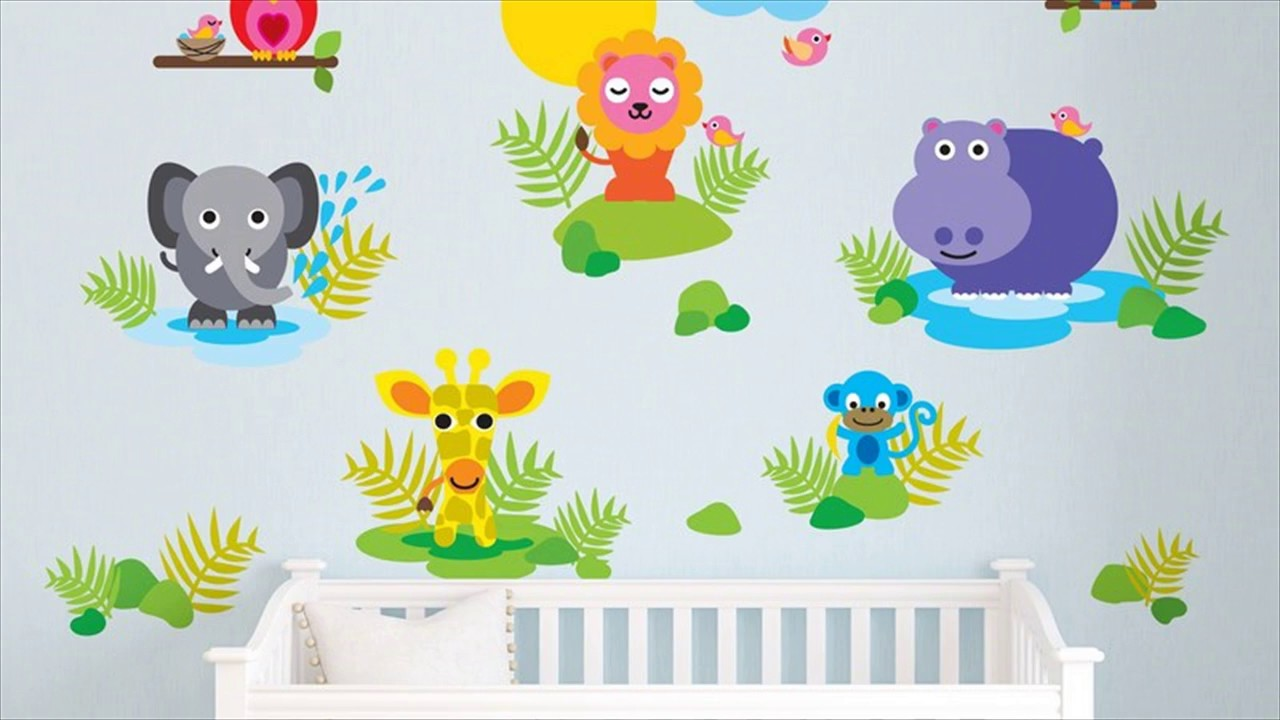 Wall sticker for kids room youtube wall sticker for kids room amipublicfo Gallery