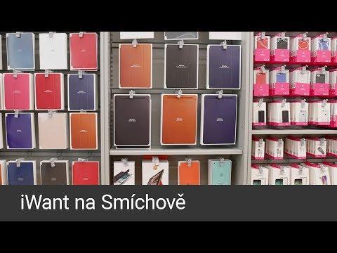 iWant otevřel novou prodejnu na Smíchově