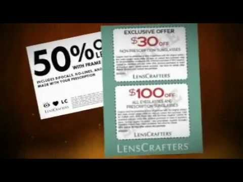 photo regarding Lenscrafters Printable Coupons named LensCrafters Discount codes September 2012 - LensCrafters Discount coupons Printable September 2012