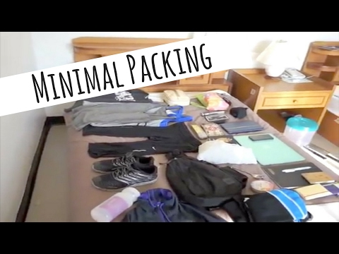 HOW TO PACK FOR MINIMALIST TRAVELING » asia + europe