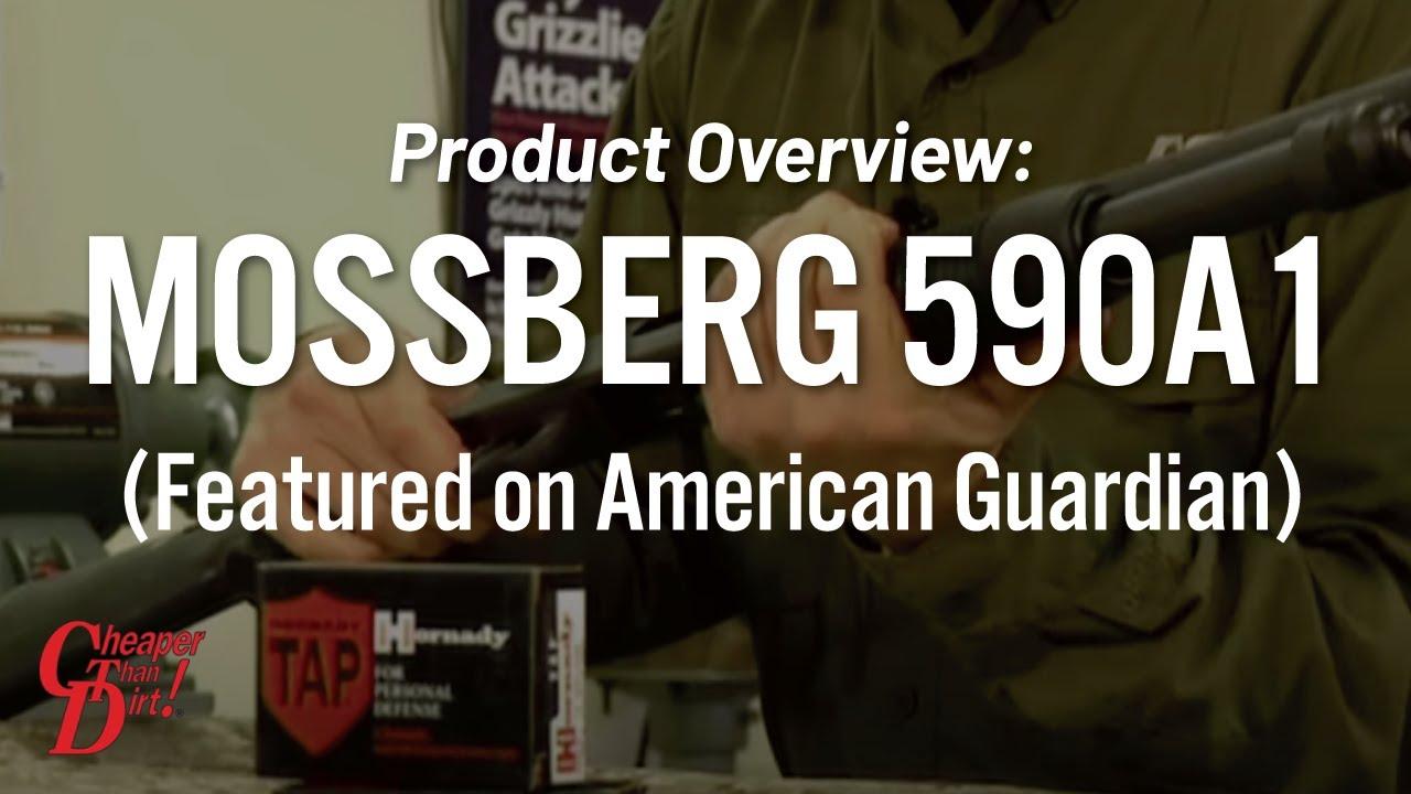 Mossberg 590A1 on American Guardian - Gun Locker
