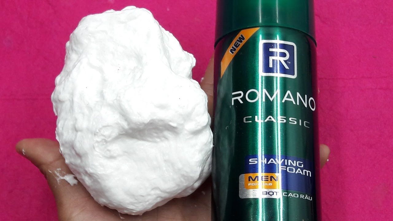 How To Make Fluffy Slime With Shaving Cream No Borax