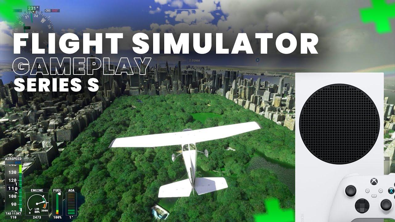 Microsoft Flight Simulator- GAMEPLAY 1080p 30FPS NO XBOX SERIES S (MEU DEUS!!)