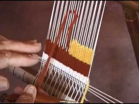 Woven Tapestry Techniques Brennan Maffei Youtube