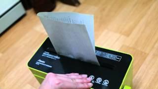 가정용 종이 분쇄기, 가정용 문서 파쇄기