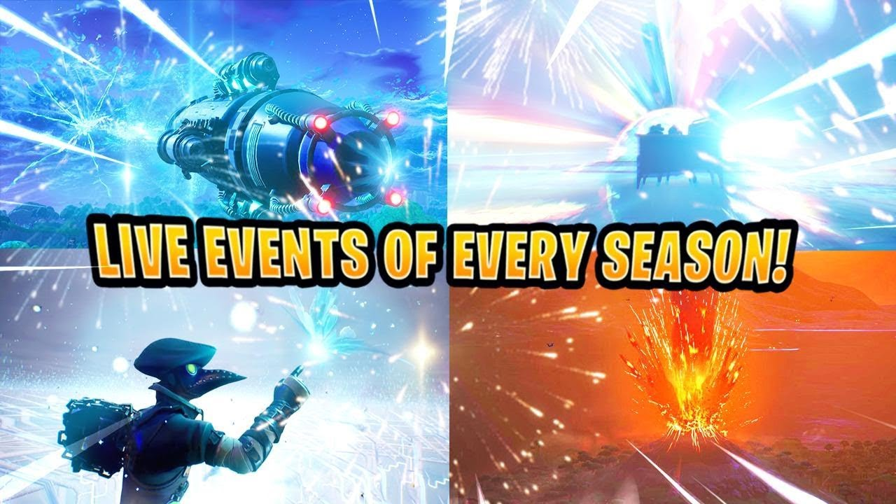 Every Fortnite Live Event So Far..! - (Season 3 - Season 9 ...
