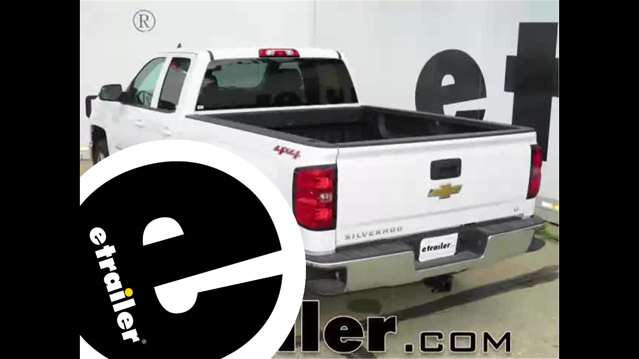 hight resolution of install trailer hitch 2015 chevrolet silverado 1500 c13175 etrailer