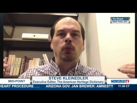 MidPoint |  Steve Kleinedler, the executive editor of the American Heritage Dictionary