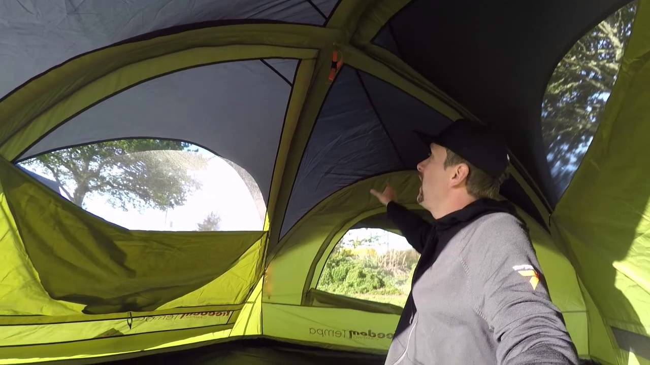 & Freedom Camping Tempa tent - YouTube