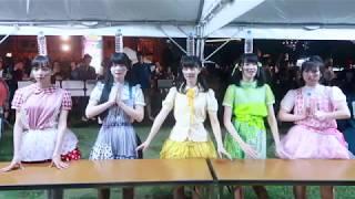 2017/7/8 アイドル横丁夏まつり2017より 神宿(かみやど) 2014年9月結...