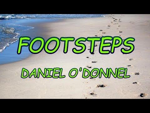Footsteps - Daniel O'Donnel - with lyrics