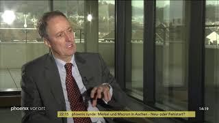 Michael Krons im Gespräch mit Hélene Miard-Delacroix zum Aachener Vertrag am 22.01.19