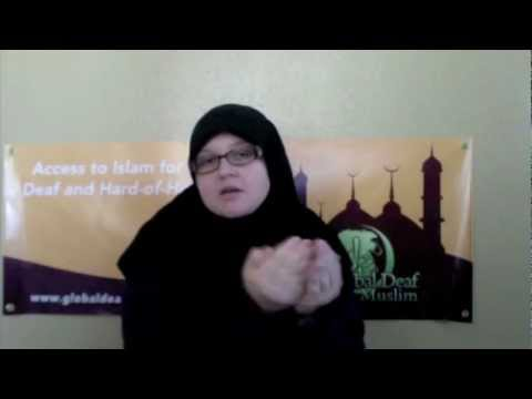 Common Islamic Words & Phrases in ASL (American Sign Language)
