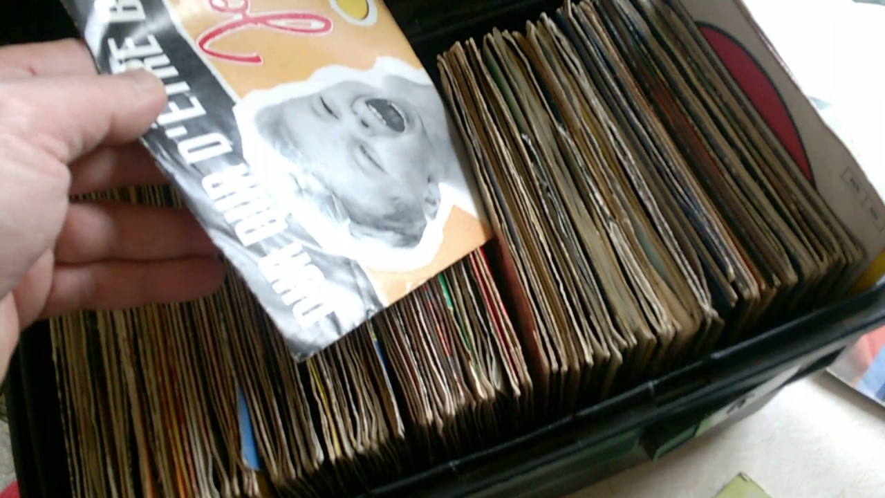 Rangement Vinyl 45 Tours rangement des 45 tours - youtube