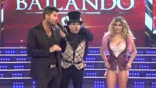 Showmatch 2014 - Flojo femme style de Pachano y fuerte discusión con Polino