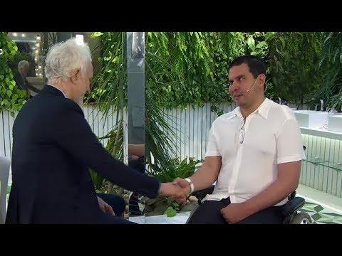 La emoción de Andy al entrevistar a Fernando Cáceres - PH Podemos Hablar