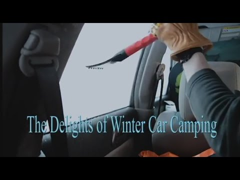 The Delights Of Winter Car Camping
