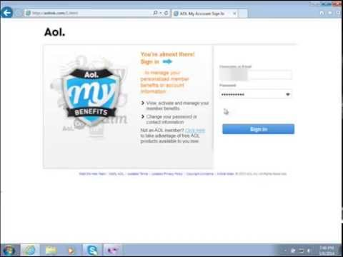 AOL Phishing Page Leads To Fake Tech Support Scam