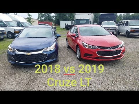 2018 Chevy Cruze Vs 2019 Chevy Cruze 4 Big Differences Here Is