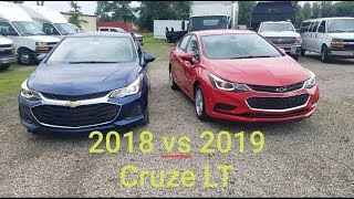 2018 Chevy Cruze vs 2019 Chevy Cruze - 4 BIG DIFFERENCES - Here is what's new!