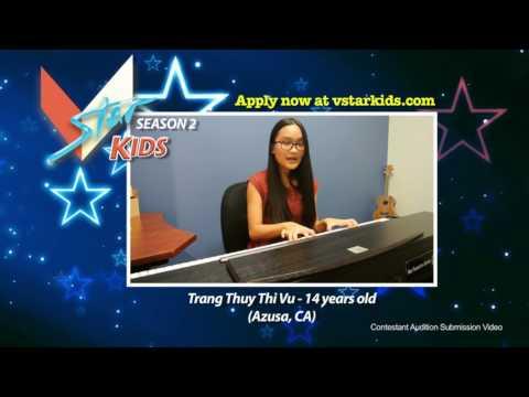 VSTAR Kids Season 2 Contestant #132 – Trang Thuy Thi Vu