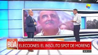 Guillermo Moreno lanzó un polémico spot de campaña