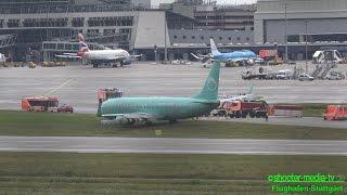 HAVARIE EINER BOEING 737 - Großalarm am Flughafen Stuttgart | [AIRPORT CLOSED] - [E]