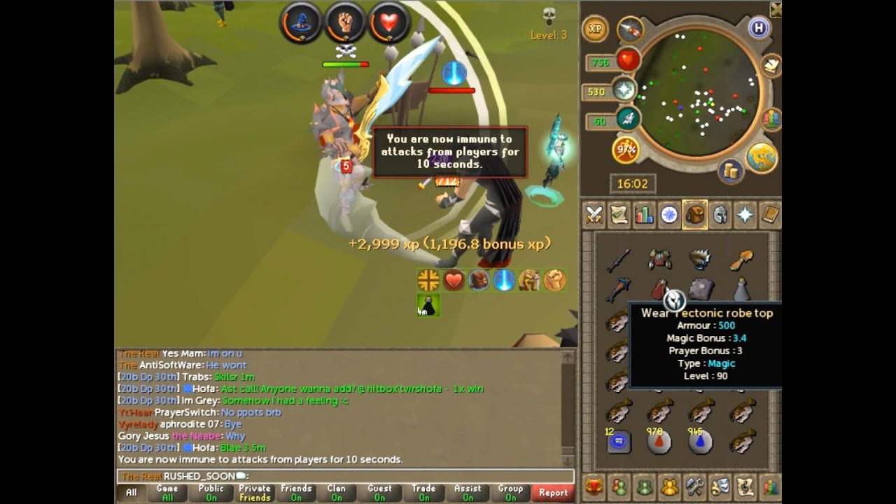 Runescape 3 Legacy Mode Pking Ragg Pking High Risk Pking 3