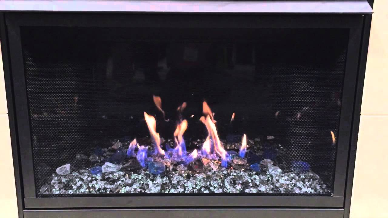 monessen aria vff36 vent free gas fireplace youtube