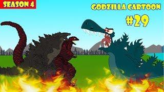 Godzilla vs Shin Godzilla #29 - 1 Hour Funny   Godzilla Cartoon
