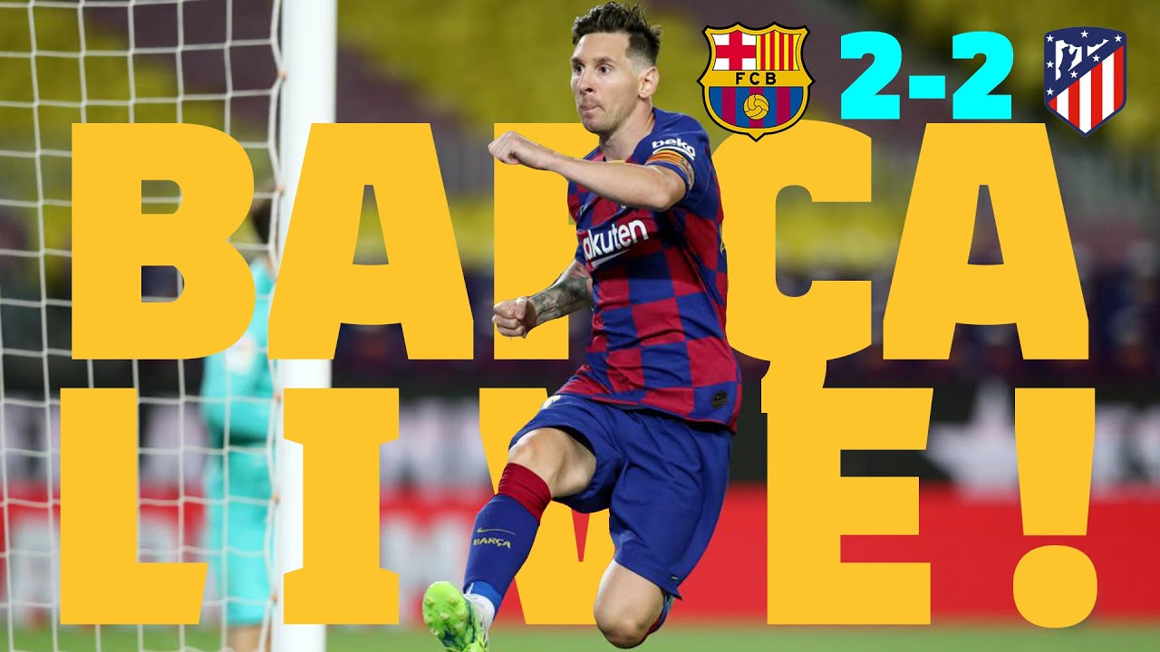 Barcelona vs. Atletico Madrid score: Messi gets 700th goal, but ...