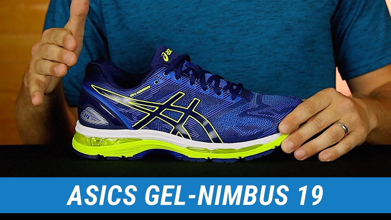 huge selection of 4f5c8 a0e64 ASICS GEL-Nimbus 19 | Men's Fit Expert Review