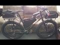 Fat Bike Cargo Rack (Topeak 29er Explorer Mtx bike rack)