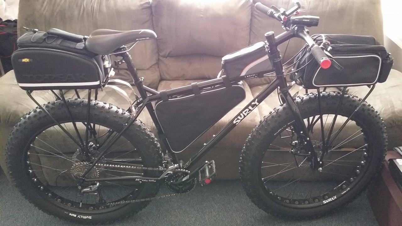 Fat Bike Cargo Rack Topeak 29er Explorer Mtx Bike Rack Youtube