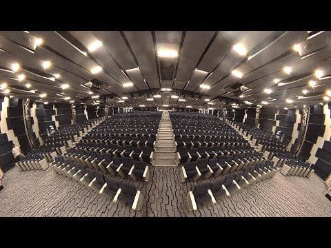 4K/360 - MSC Seaside Metropolitan Theater Walkthrough