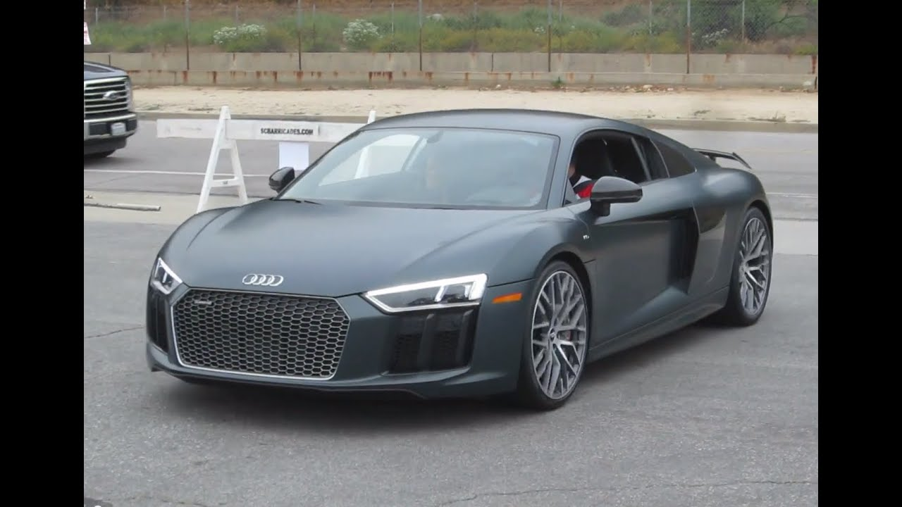 2017 Audi R8 V10 Plus W Startup Acceleration Youtube