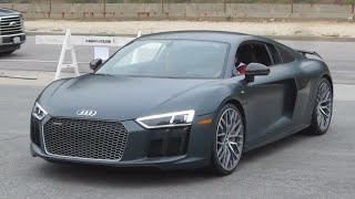 2017 Audi R8 V10 Plus (w/ startup, acceleration)