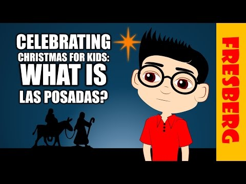 What is Las Posadas? Christmas Around the World: Las Posadas en Mexico Cartoon