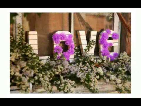 Cмотреть видео онлайн Украшение Цветами Свадеб