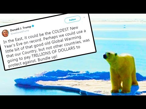 Trump Displays Pure Stupidity On Climate Change
