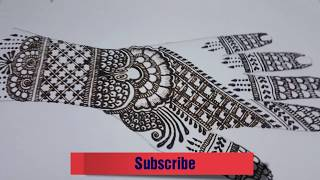 Intricate Bridal Mehndi Design | My Style Zone |
