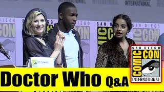 DOCTOR WHO | Comic Con 2018 Q&A [Part 2 of Panel] (Jodie Whittaker, Mandip Gill, Tosin Cole)
