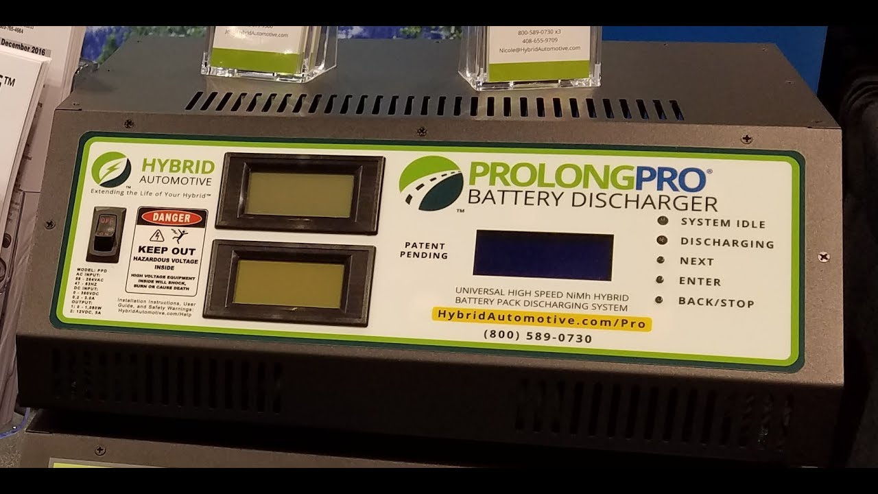 Prolongpro Discharger Preview Hybrid Automotive