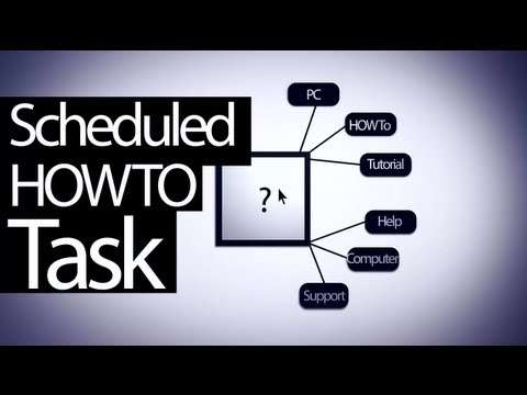 How To | Reboot PC with Task Scheduler on a schedule