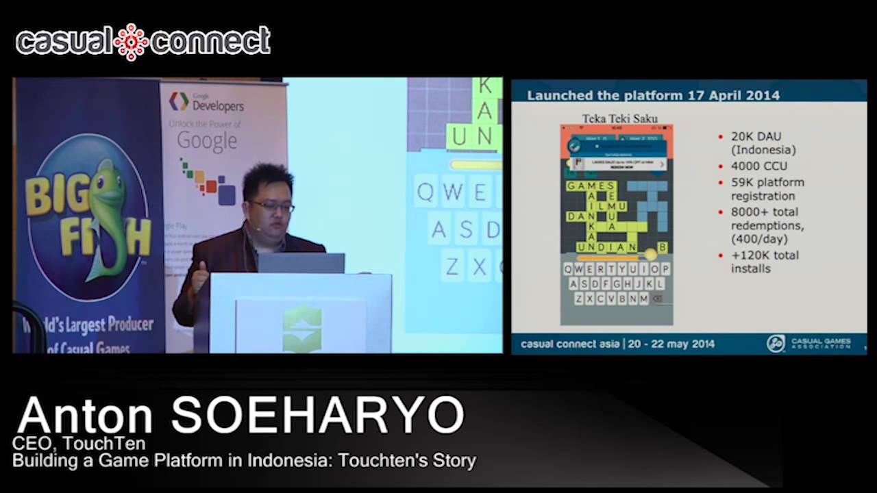 Indonesia's Touchten Games secures series C round funding from Gree