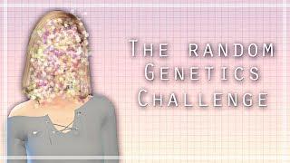 I am so lucky! - The Sims 4 [Random Genetics Challenge]