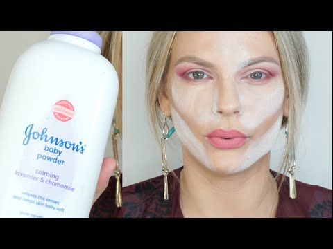 Beauty Hacks Tested |Baby Powder|